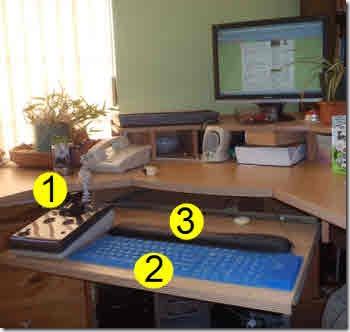 Glenda's desk
