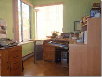 Glenda's corner office